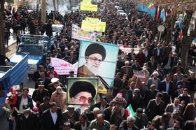 پژواک فریاد حق طلبانه مردم سمیرم در روز ۲۲ بهمن