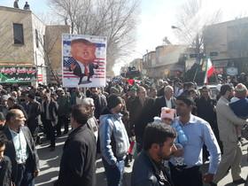 مردم ایران همیشه در صحنه های انقلابی حضور دارند
