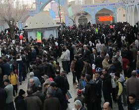 خروش انقلابی مردم تیران و کرون در ۲۲ بهمن