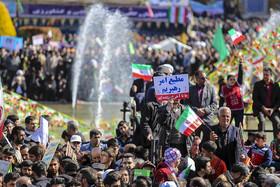 راهپیمایی مردم اصفهان به مناسبت پیروزی شکوهمند انقلاب اسلامی