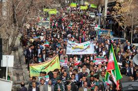 راهپیمایی مردم سمیرم به مناسبت پیروزی شکوهمند انقلاب اسلامی