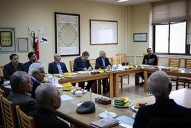 جلسه هیئت امنای خانه ریاضیات با حضور شهردار اصفهان