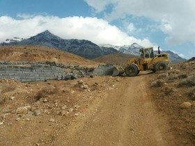 ۴۰۰ متر از اراضی ملی نطنز از متصرفان خلع ید شد