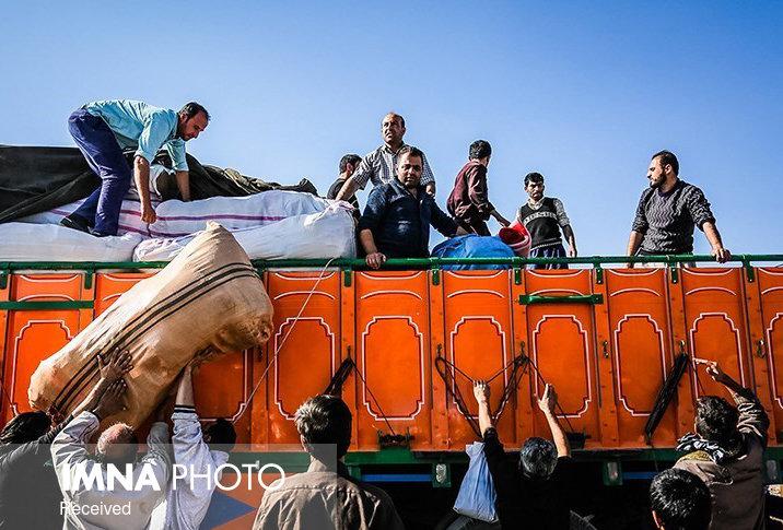 آغاز توزیع کمکهای بخشخصوصی در میان سیلزدگان