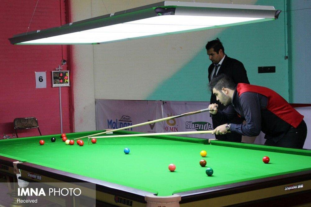 آغاز مسابقات رنکینگ کشوری اسنوکر زیر ۲۱ سال در اصفهان
