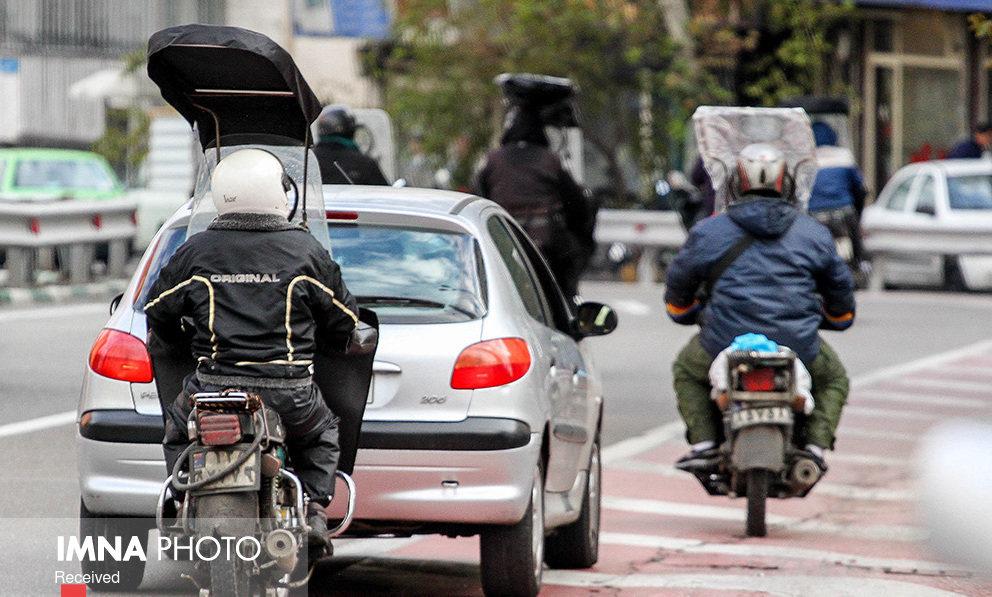 توضیح پلیس در مورد انتشار کلیپ درگیری مامور راهور با موتورسوار متخلف