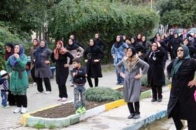 آموزش ورزش آپارتمانی به بانوان اصفهان