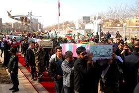 پیکر مطهر  ۱۰ شهید در اصفهان تشییع میشود
