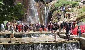 آبشار سمیرم چشم به راه تدبیر مسئولان