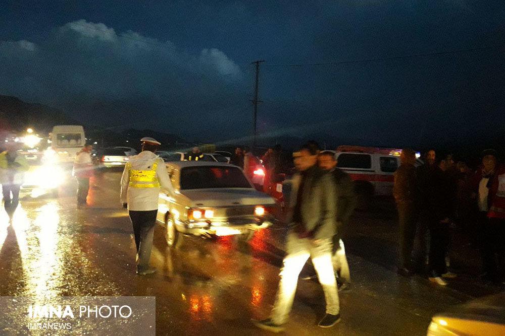 دناکوه-نزدیکی محل سقوط هواپیمای تهران - یاسوج