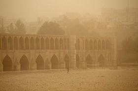 گرد و غبار تا دوشنبه مهمان اصفهان است