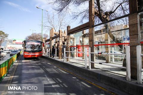 فعالیت حملونقل عمومی پایتخت مانند روزهای تعطیل