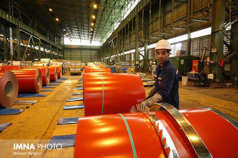 صادرات ورق فولادی به شرط عرضه در بورس