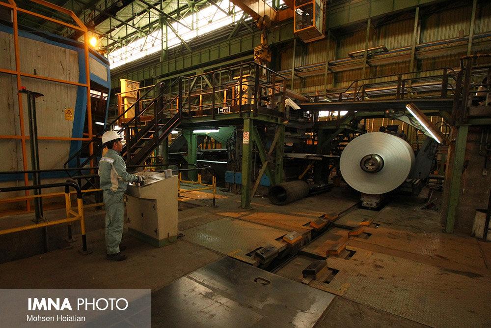 تولید ۴۴ درصد فولاد خام کشور در گروه فولاد مبارکه در هفت ماهه اول امسال