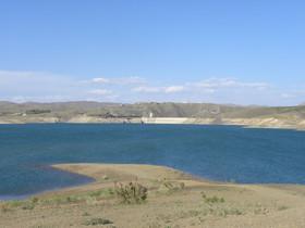 کاهش ذخیره سد زایندهرود به ۱۲۹ میلیون مترمکعب