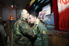 فارغ التحصیلی خلبانان مرکز آموزش شهید وطن پور