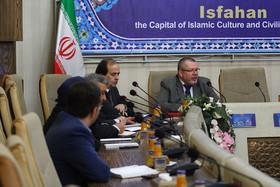 دیدار هیئت آلمانی با مسئولان شهری اصفهان