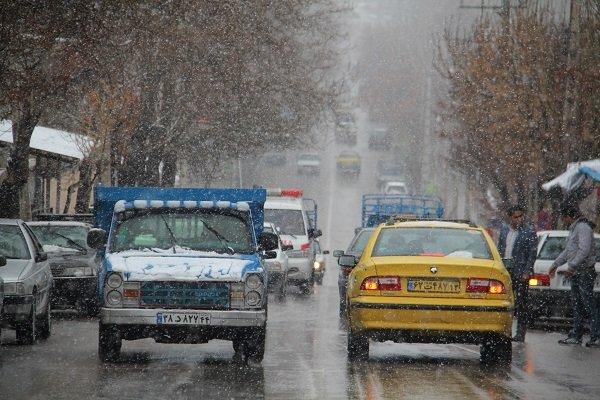 اختلال در ۲ خط اتوبوسرانی تهران بر اثر بارش برف