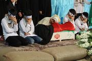 مراسم سالگرد سردار شهید حسین خرازی در گلستان شهدا