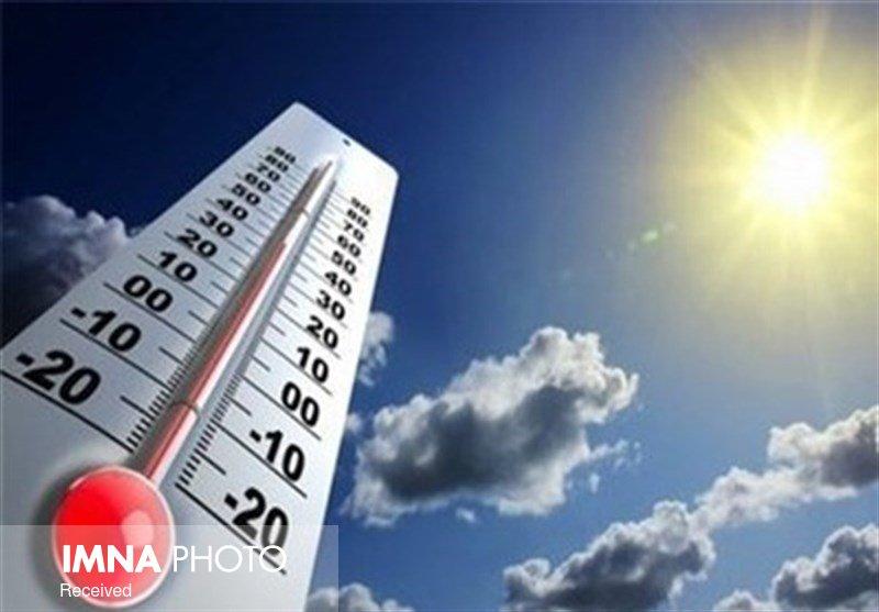 دمای هوا در اصفهان به ۴۱ درجه رسید