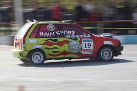 نخستین مسابقات اتومبیلرانی چند جانبه شهرضا برگزار شد