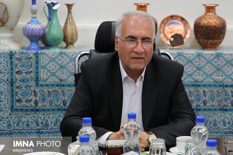 """دیدار شهردار موستار """" لیوبو بشلیج"""" با شهردار اصفهان"""
