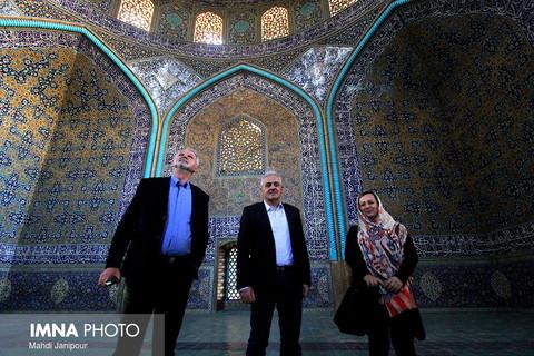 """بازدید شهردار """"موستار"""" از اصفهان"""