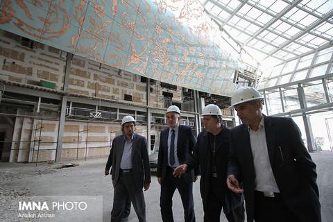 دومین روز از بازدید شهردارموستار از اصفهان
