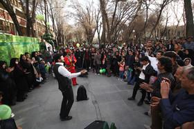 گذر فرهنگی چهارباغ میزبان میهمانان نوروزی