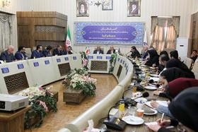 نشست خبری شهردار اصفهان و شهردار موستار