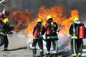 آمادگی ۲۴ ایستگاه آتش نشانی برای چهارشنبه پایانی سال