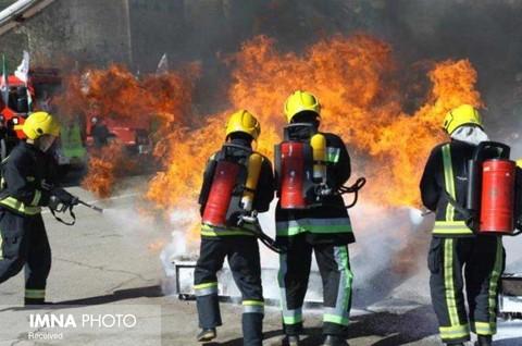 ضرورت استفاده از نیروهای داوطلب در آتشنشانی قزوین