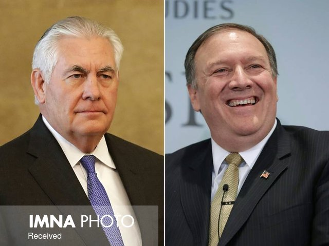 ترامپ رکس تیلرسون را از وزارت خارجه آمریکا برکنار کرد/یک زن رییس سیا
