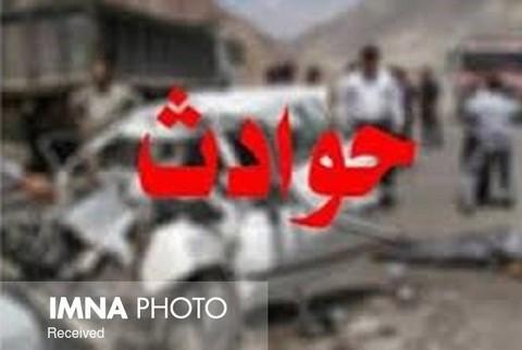 تصادف مرگبار در محور شهر ابریشم