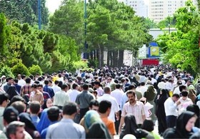 جمعیت ایران از مرز ٨١ میلیون نفر گذشت