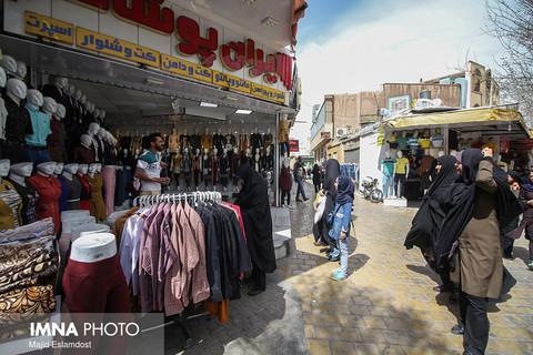 حال و هوای بازار خرید عید