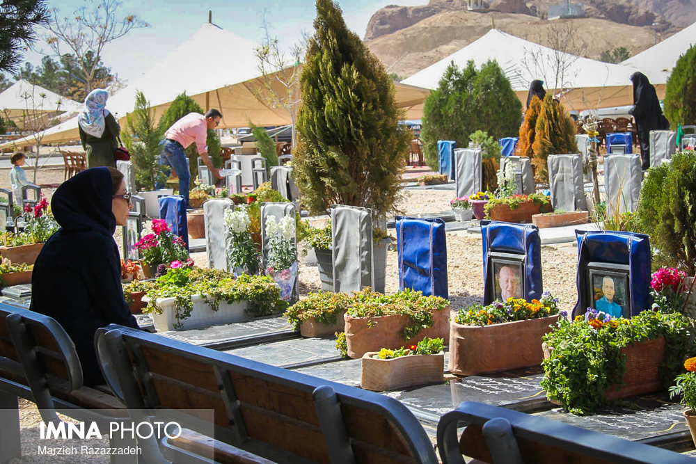تمهیدات کرونایی در آرامستانهای اصفهان
