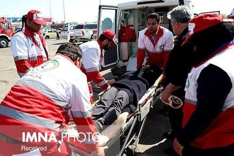 ۷۲ آسیب دیده در ۳۴ حادثه/بیشترین امدادرسانی در حوادث شهری بوده است