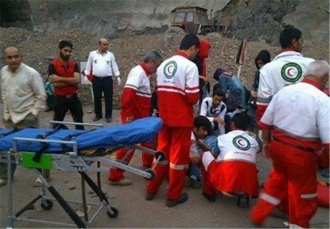 ۱۵۷ مصدوم انواع حوادث به مراکز درمانی منتقل شدند