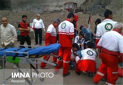 ۱۴۶ آسیب دیده در ۵۷ حادثه امدادرسانی شدند