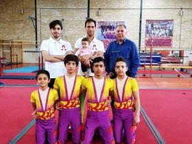 خانه ژیمناستیک اصفهان میزبان اردوی متمرکز تیم ملی آکروژیم