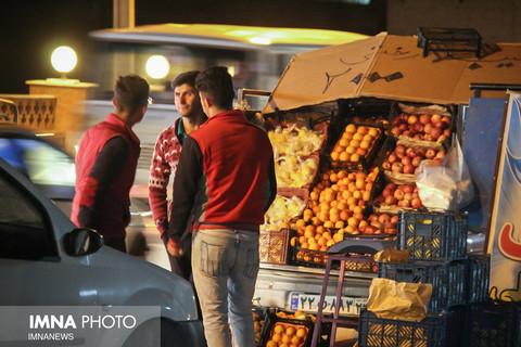شهرستان سمیرم در جنب و جوش شب عید