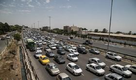 ترافیک پرحجم و روان در محورهای ورودی اصفهان