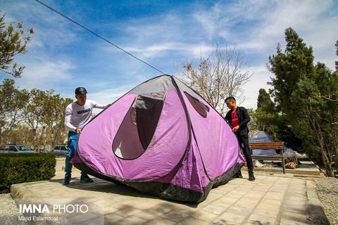ورود مسافران نوروزی به نصف جهان