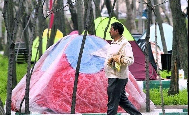 جمعآوری ۵۶ چادر مسافرتی از سطح شهر