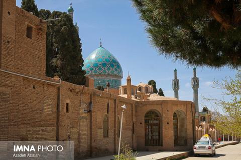 آستانه مقدس شاه نعمت الله ولی در شهر ماهان