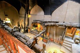 ورودی اصلی موزه عصارخانه شاهی افتتاح شد