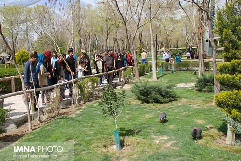 ویژه برنامه های نوروزی در پارک جنگلی ناژوان