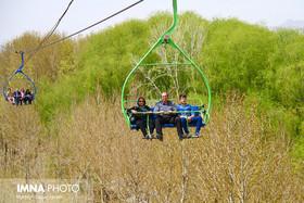 بازدید ۴۰ هزار گردشگر از مراکز تفریحی ناژوان در روز ششم نوروز
