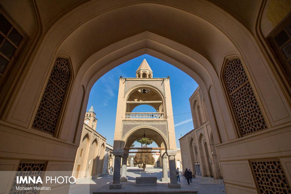 کلیسای وانک زیباترین کلیسای اصفهان